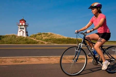 cavendish PEI bicycle tour