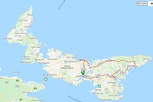 6 Day 5 Night Eastern Loop PEI Bike Tours