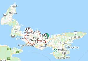 7 Day 6 Night Central & Eastern Loop PEI Bike Tour